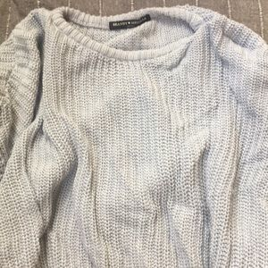Brandy Melville blue sweater